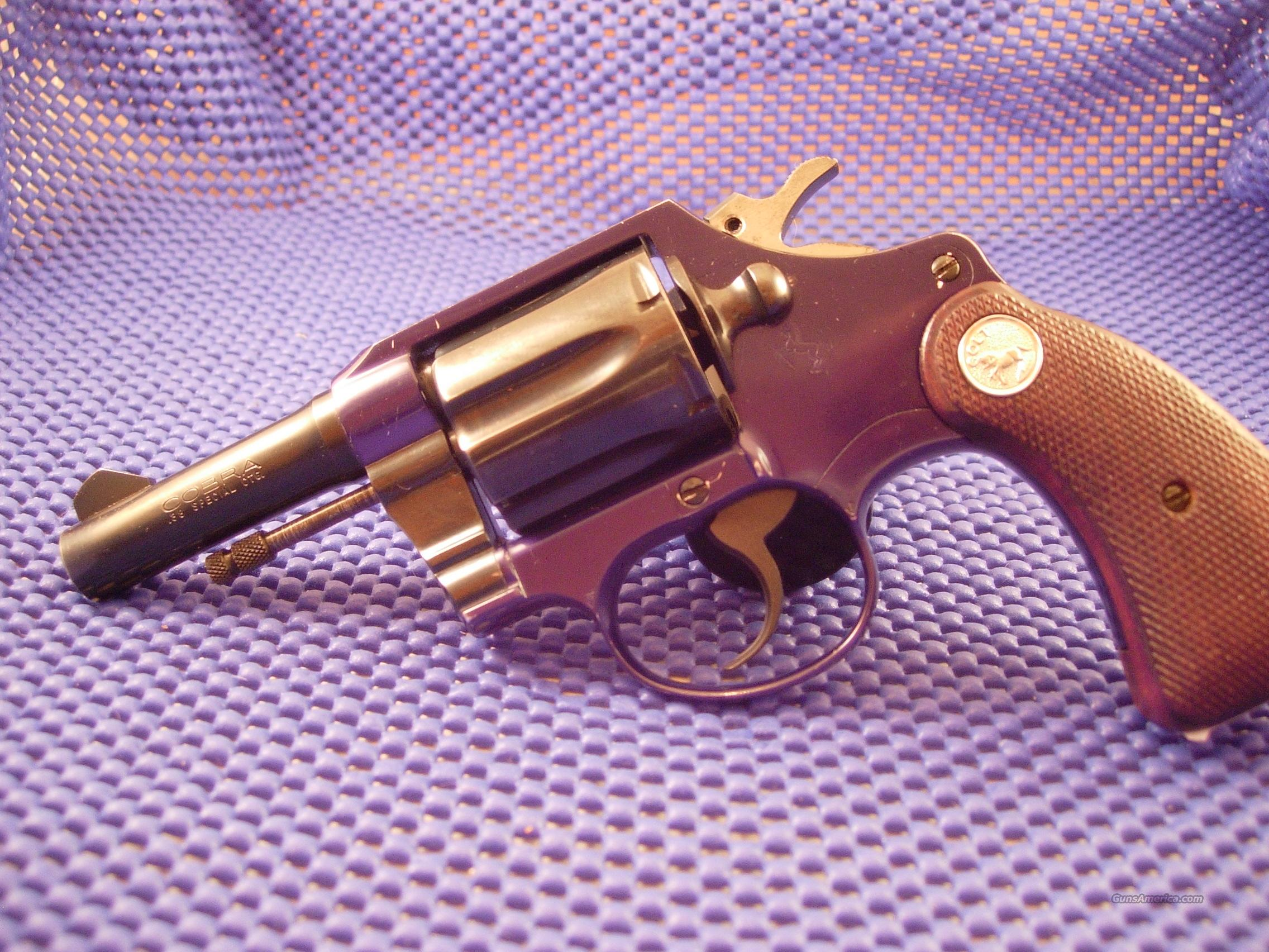 Colt Cobra 3 inch barrel  Guns > Pistols > Colt Double Action Revolvers- Modern