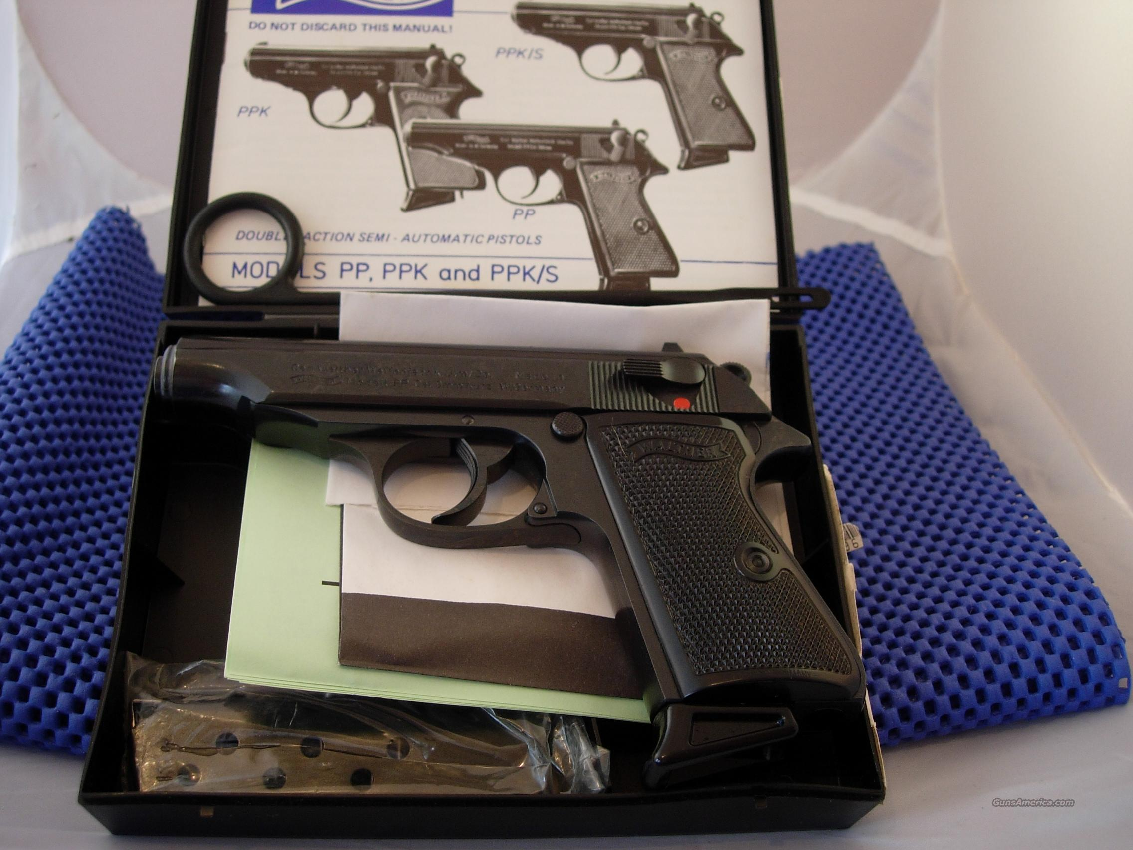 Walther PP .380 made in Germany  Guns > Pistols > Walther Pistols > Post WWII > PP Series
