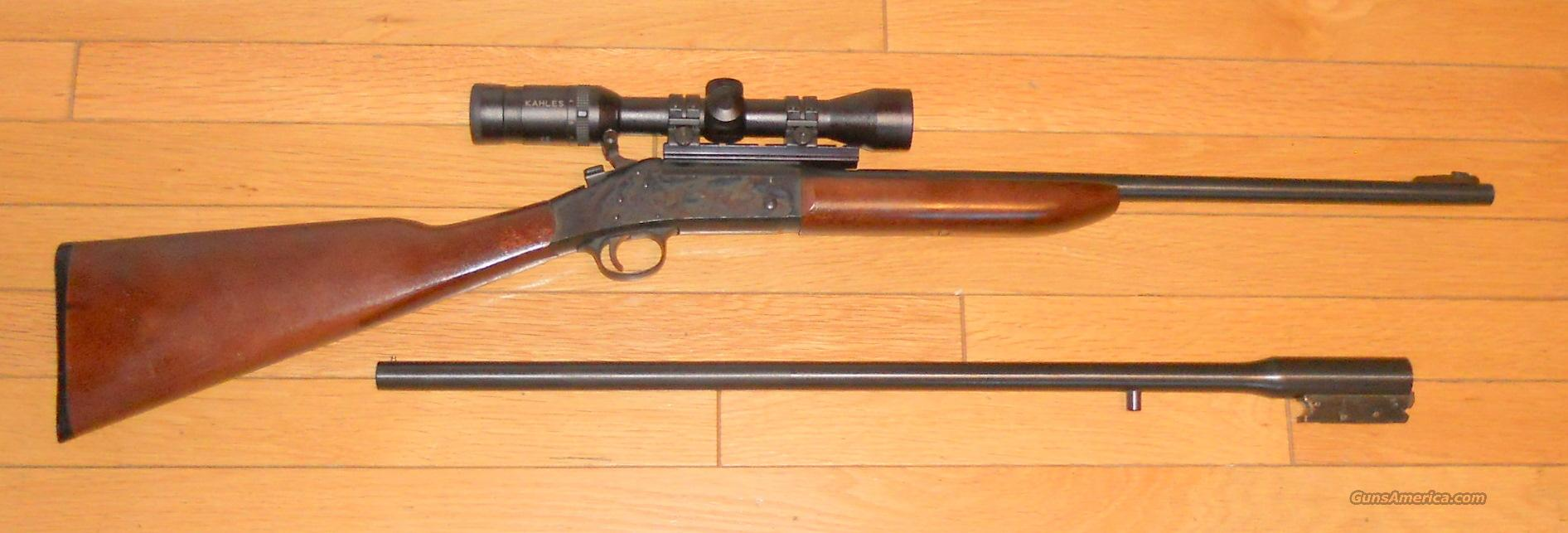 H&R, Model 158 Topper, 30-30 & 20 Gauge  Guns > Rifles > Harrington & Richardson Rifles
