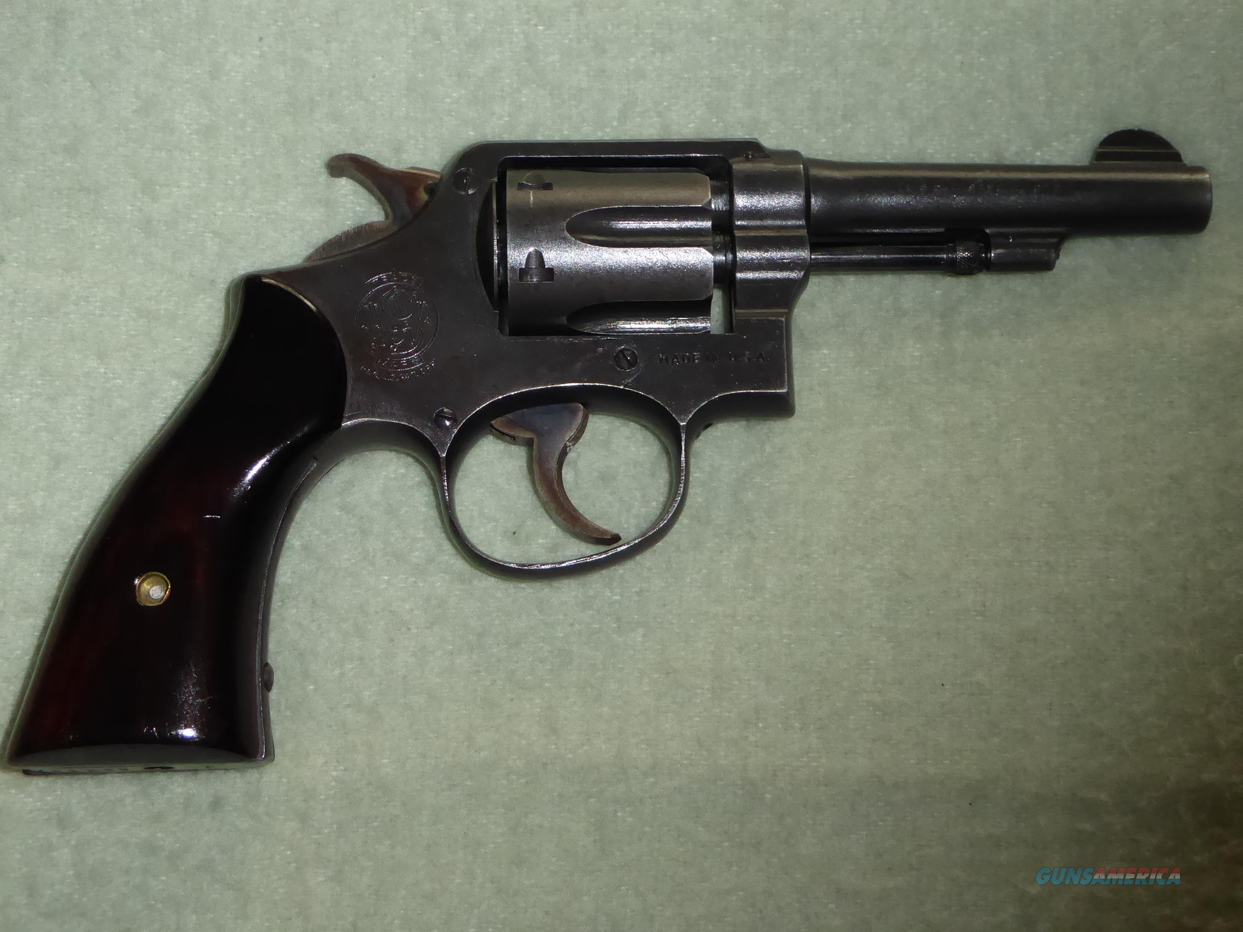 """Smith & Wesson """"Victory"""" Model  Guns > Pistols > Smith & Wesson Revolvers > Med. Frame ( K/L )"""