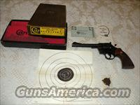 Colt, Officers Model Match - 22 LR  Guns > Pistols > Colt Double Action Revolvers- Modern