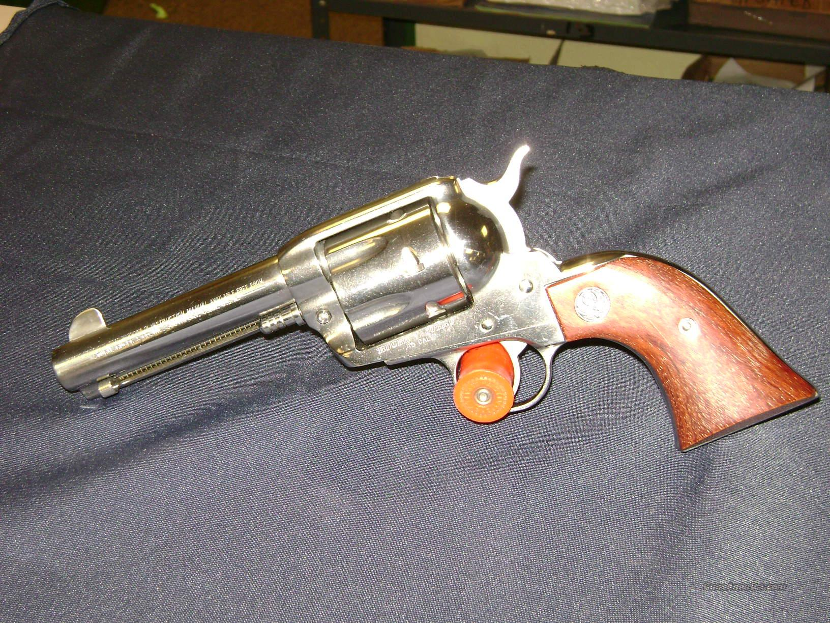 Ruger Old Vaquero Single Action Revolver  Guns > Pistols > Ruger Single Action Revolvers > Cowboy Action