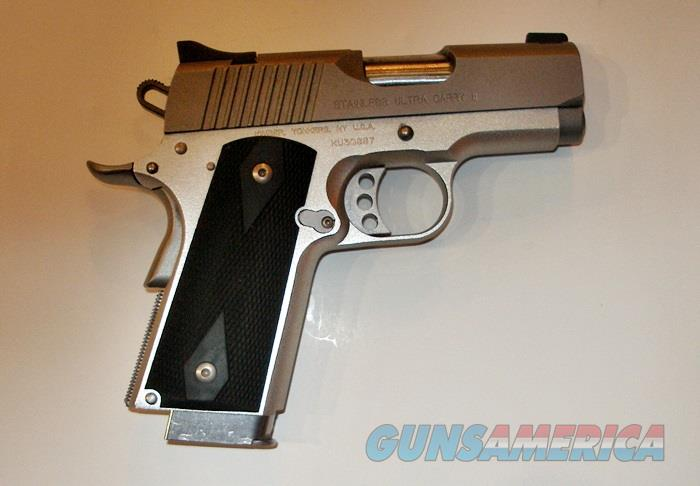 KIMBER ULTRA CARRY II STAINLESS 45 ACP  Guns > Pistols > Kimber of America Pistols