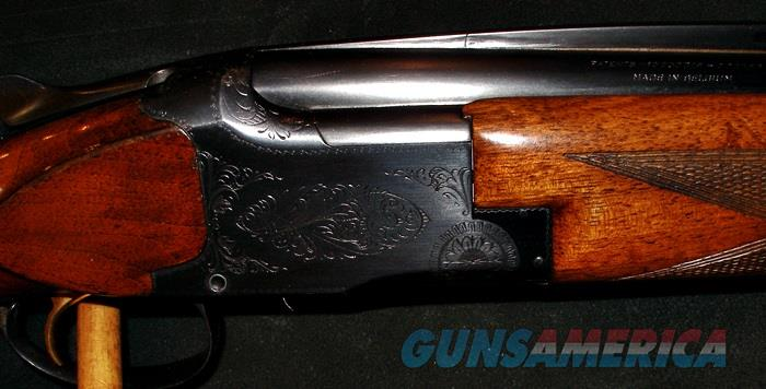BROWNING GRADE 1 SUPERPOSED 20GA O/U SHOTGUN  Guns > Shotguns > Browning Shotguns > Over Unders > Belgian Manufacture