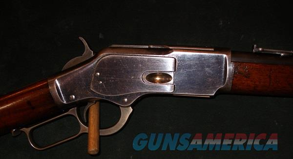 WINCHESTER 1873 SADDLE RING CARBINE44/40 CAL  Guns > Rifles > Winchester Rifles - Pre-1899 Lever