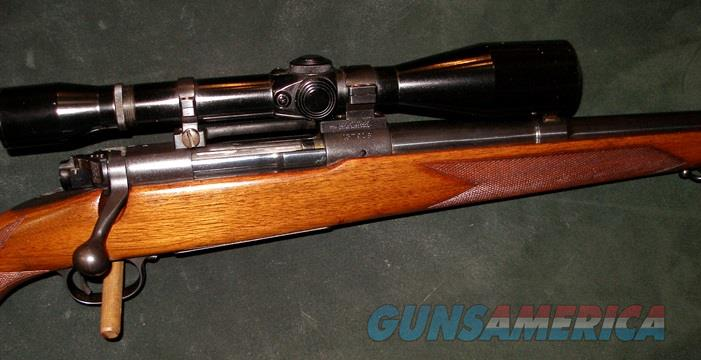 WINCHESTER MODEL 70 257 ROBERTS CAL RIFLE   Guns > Rifles > Winchester Rifles - Modern Bolt/Auto/Single > Model 70 > Pre-64