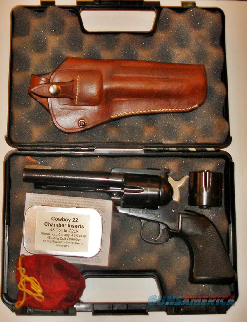 STRUM RUGER NEW MODEL BLACKHAWK CLY 45 ACP, 45 LC, & 22 INSERTS FOR 45 COLT OR LONG COLT  Guns > Pistols > Ruger Single Action Revolvers > Blackhawk Type