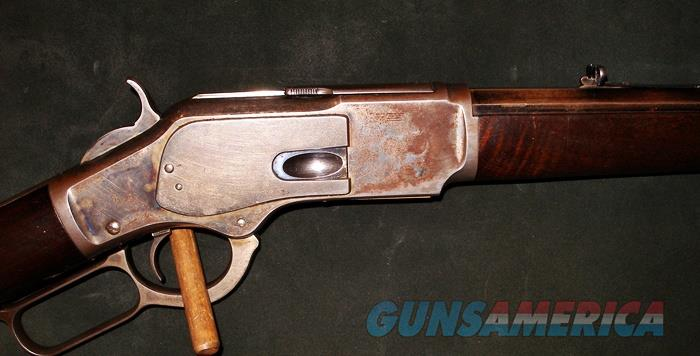 WINCHESTER SPECIAL ORDER MODEL 1873 32 WCF RIFLE  Guns > Rifles > Winchester Rifles - Pre-1899 Lever