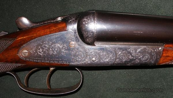 COGSWELL & HARRISON AVANT TOUT SIDEPLATE BOXLOCK 12GA   Guns > Shotguns > Double Shotguns (Misc.)  > English