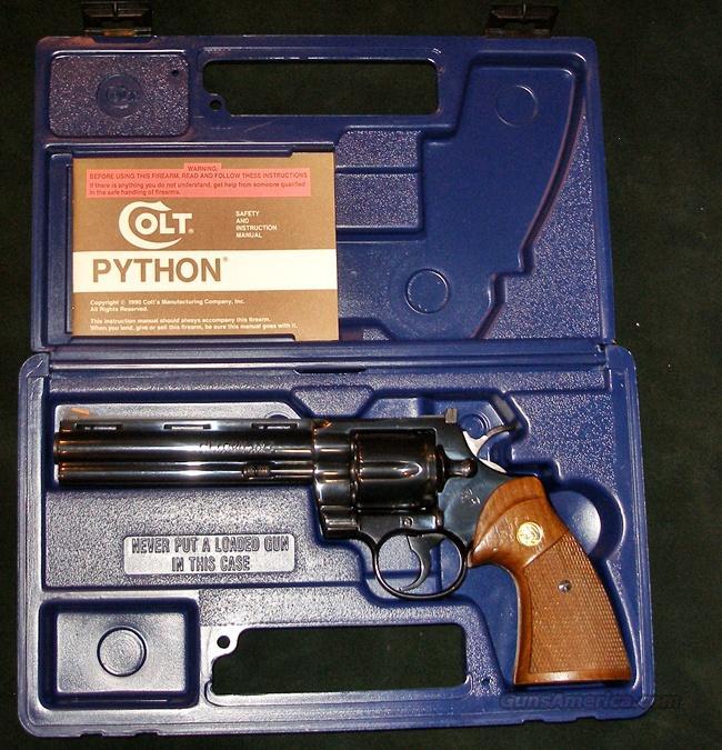 COLT PYTHON 1979 MFG 357 MAG  Guns > Pistols > Colt Double Action Revolvers- Modern