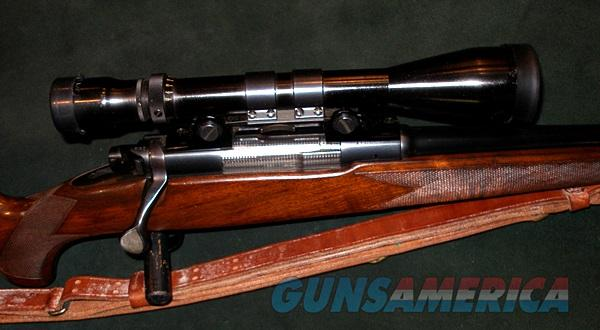 WINCHESTER MODEL 70 FWT CUSTOM UPGRADE TO SUPER GRADE LEVEL 270 CAL RIFLE  Guns > Rifles > Winchester Rifles - Modern Bolt/Auto/Single > Model 70 > Pre-64