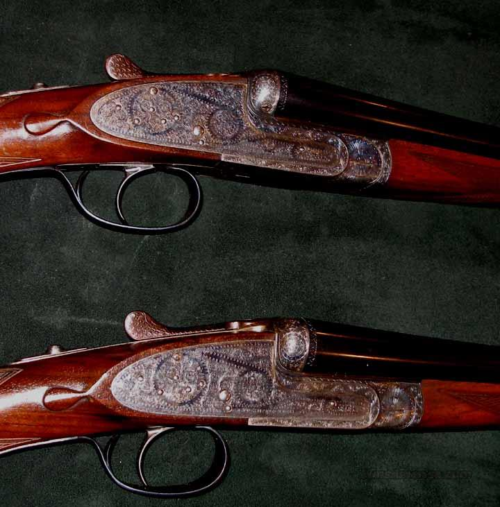 UGARTECHEA MATCHED PAIR BEST SIDELOCK 2O BORES  Guns > Shotguns > Double Shotguns (Misc.)  > Spanish