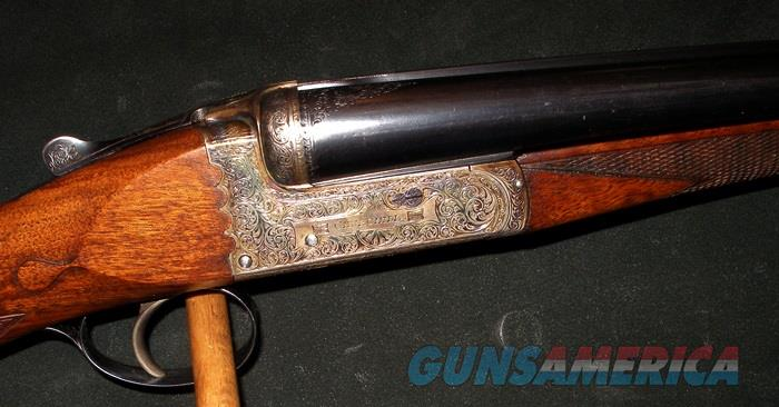 EJ CHURCHILL LONDON, HERCULES BEST QUALITY SCALLOPED BOXLOCK 20GA SHOTGUN  Guns > Shotguns > Double Shotguns (Misc.)  > English