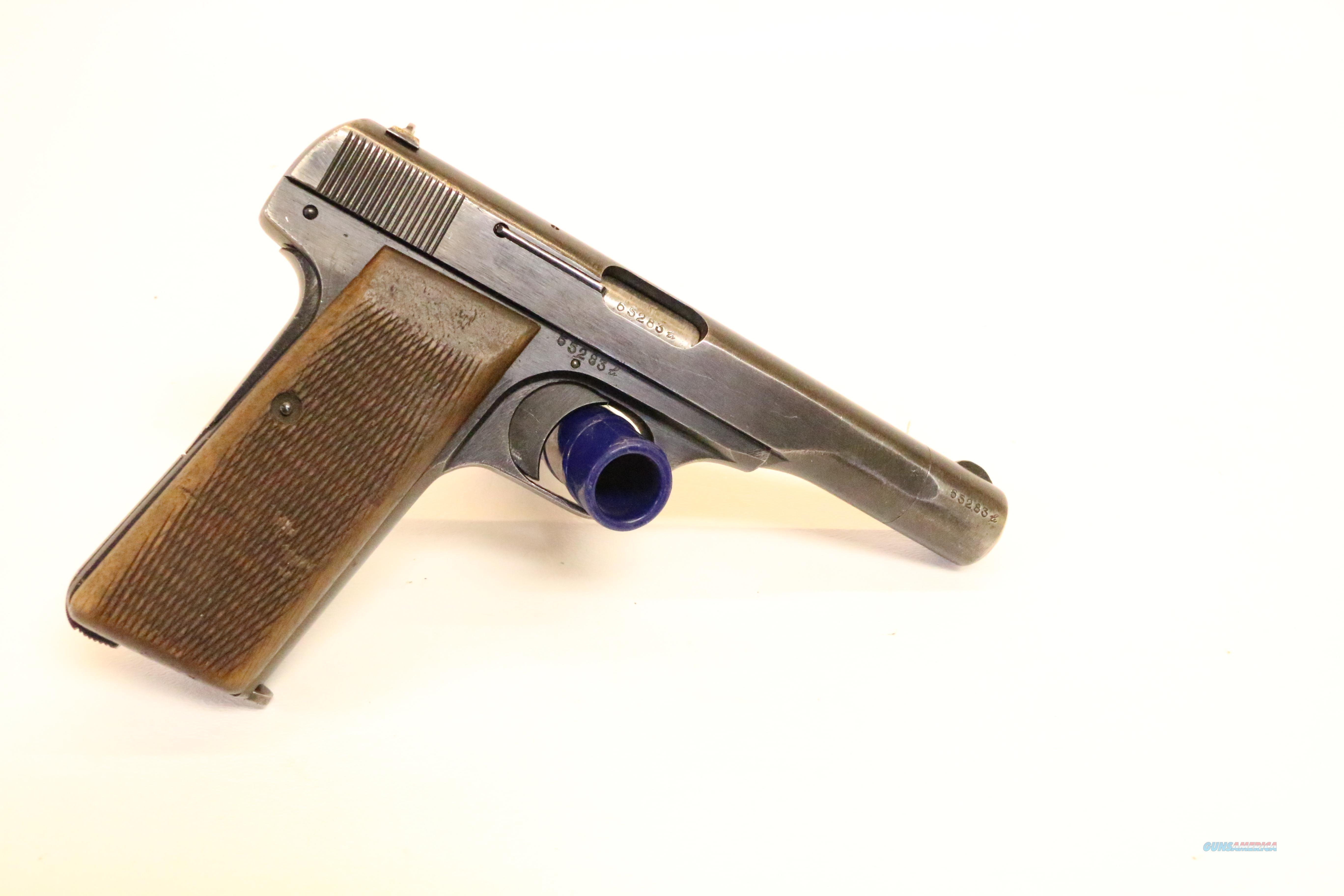 Clean Browning Pat. FN 1910/22 WaA 140 inspection  Guns > Pistols > Military Misc. Pistols Non-US