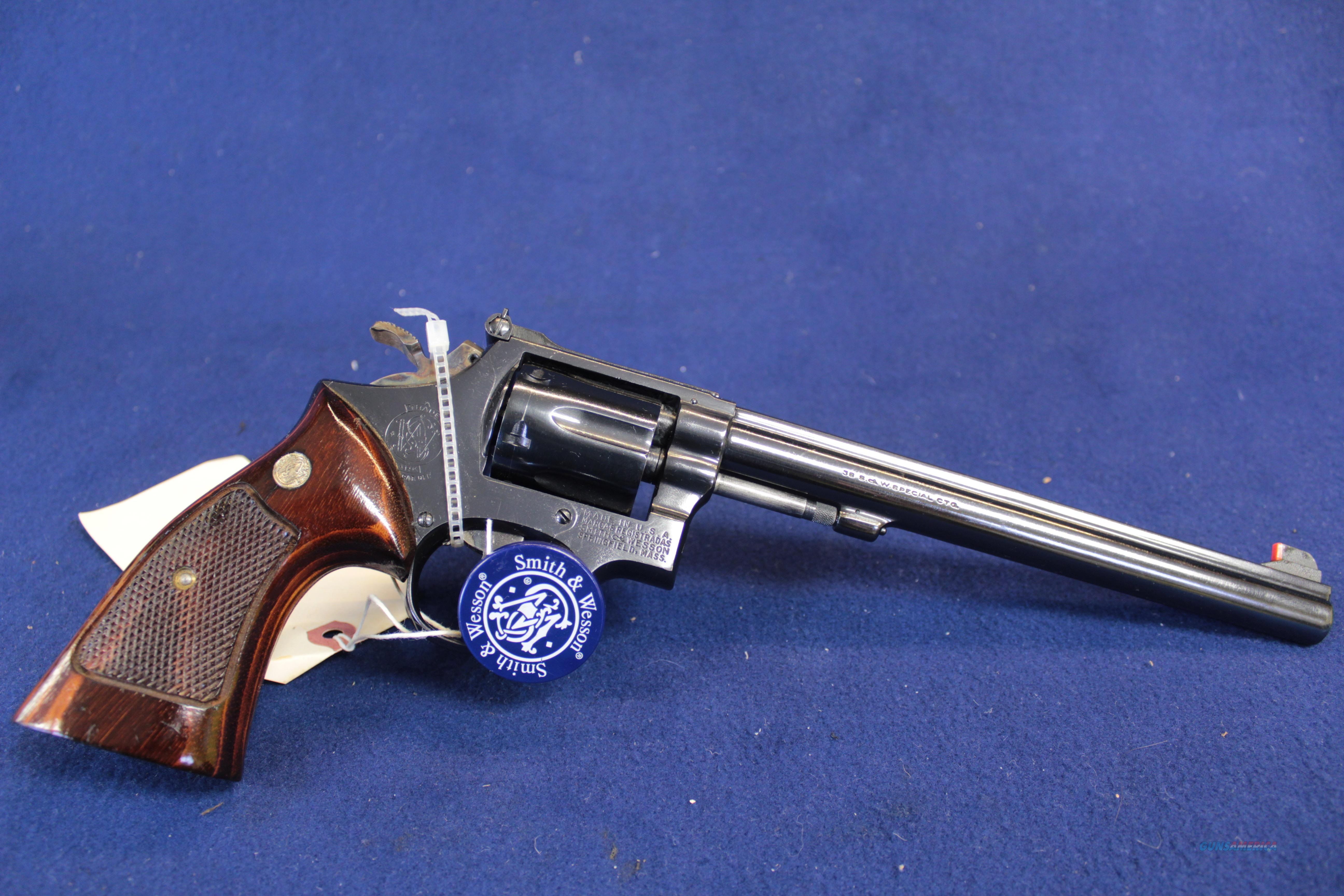 "Very Fine Smith & Wesson 14-2 3t's 8 3/8""  Guns > Pistols > Smith & Wesson Revolvers > Full Frame Revolver"