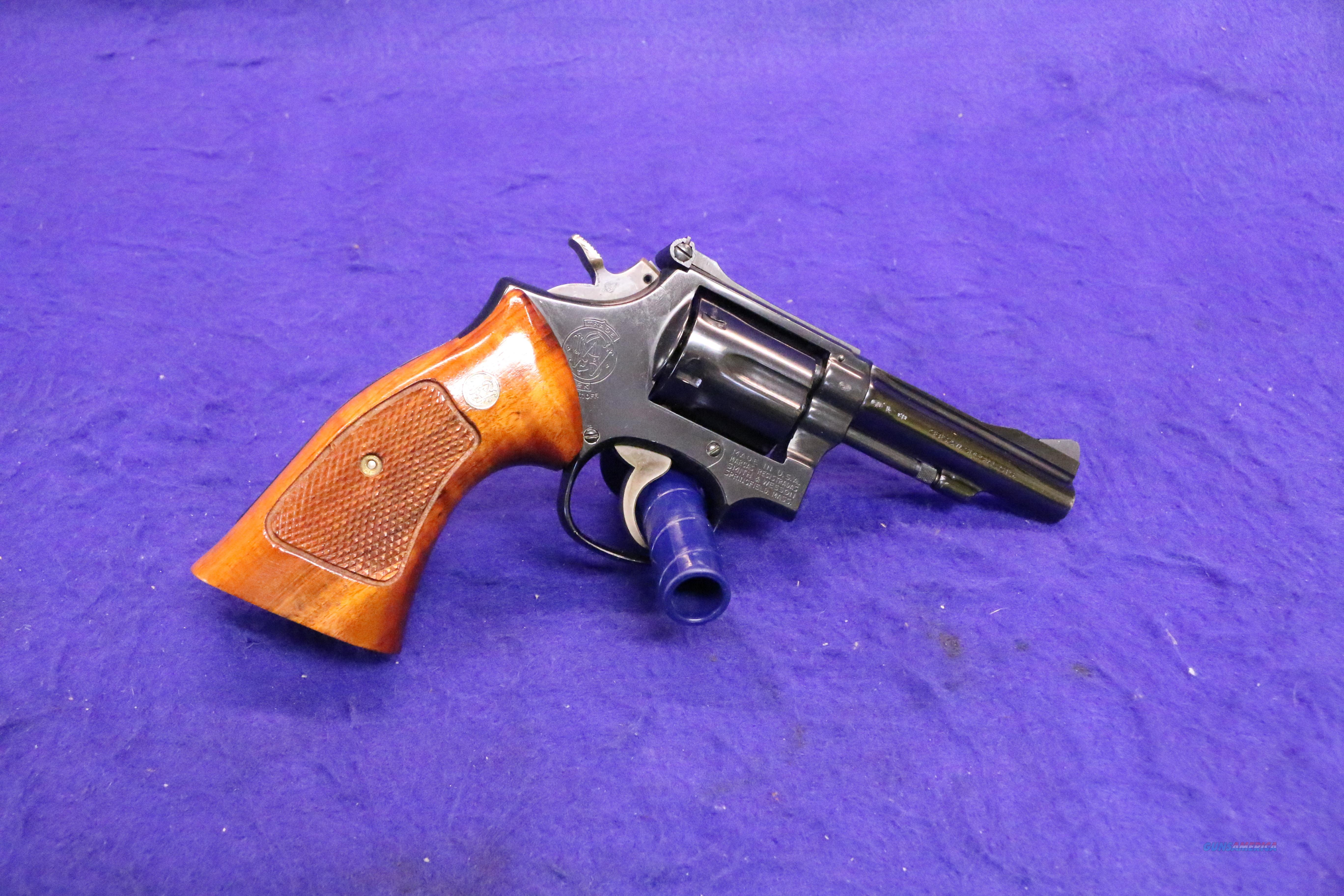 "Smith & Wesson  15-4 4"" West German proofs  Guns > Pistols > Smith & Wesson Revolvers > Med. Frame ( K/L )"
