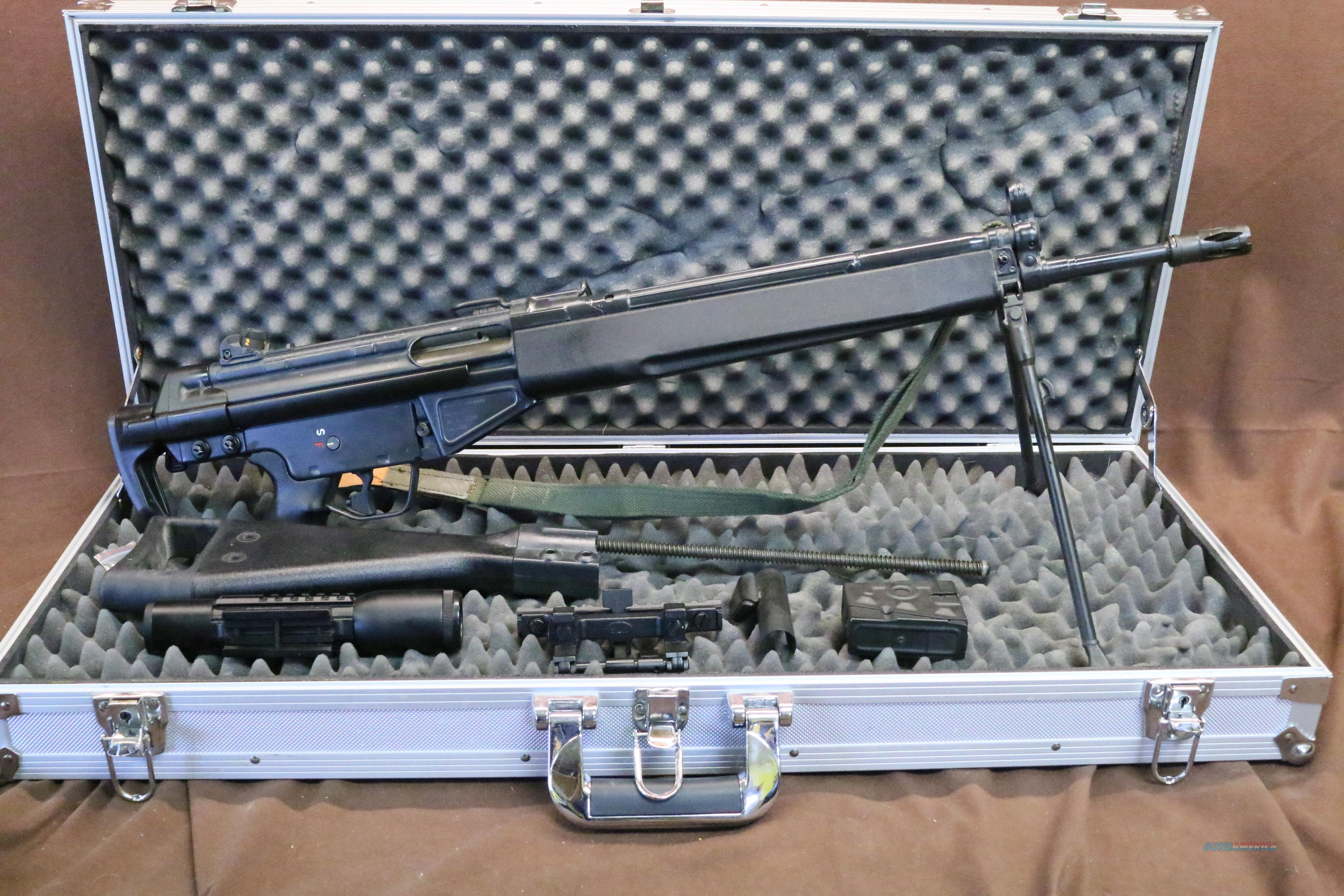 1981 Preban HK 91 With Accesories and Sub Gauge Kit  Guns > Rifles > Heckler & Koch Rifles > Tactical