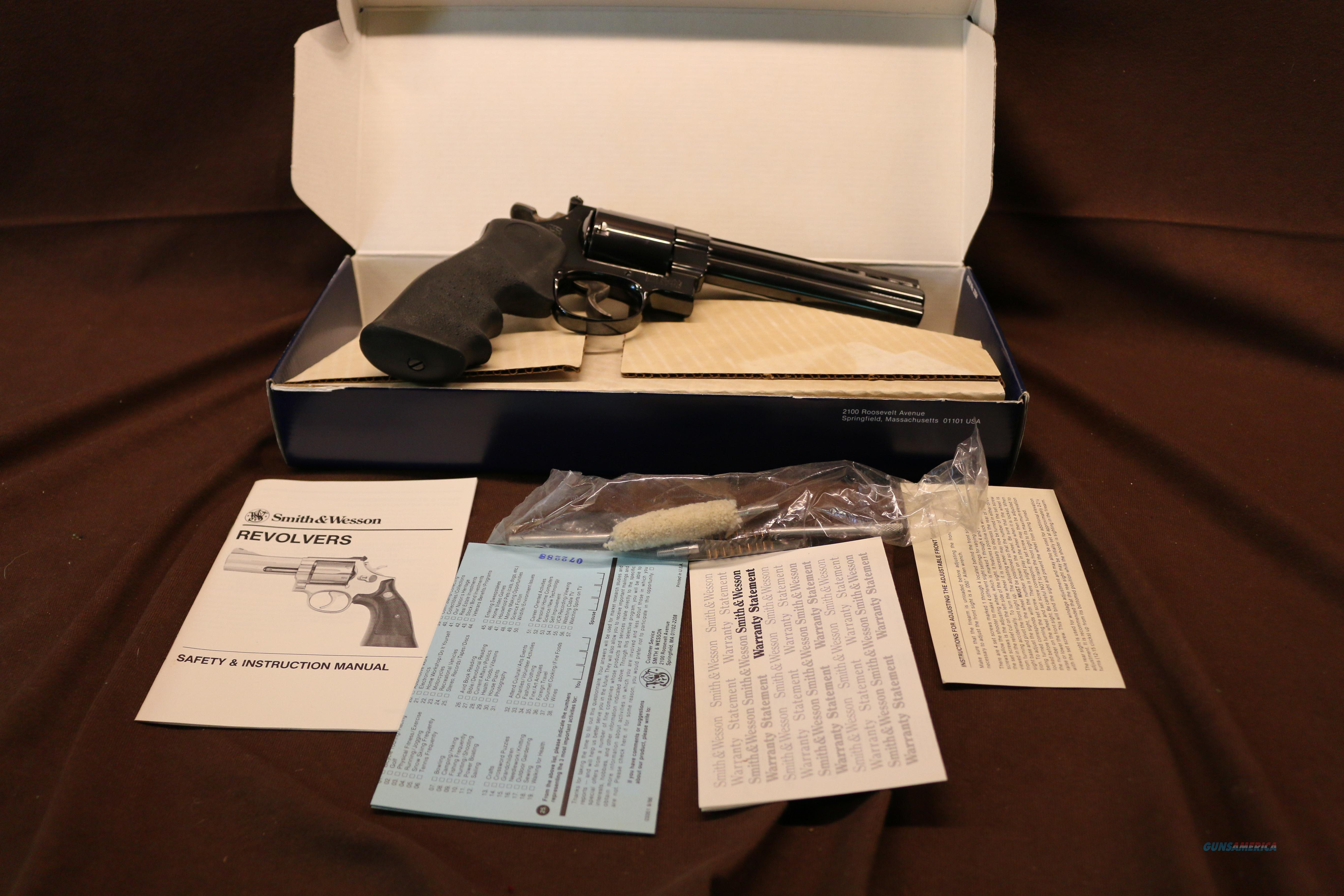 Lew Horton 1 of 5000 NIB Smith & Wesson 29-3 Unfluted Cyl   Guns > Pistols > Smith & Wesson Revolvers > Full Frame Revolver