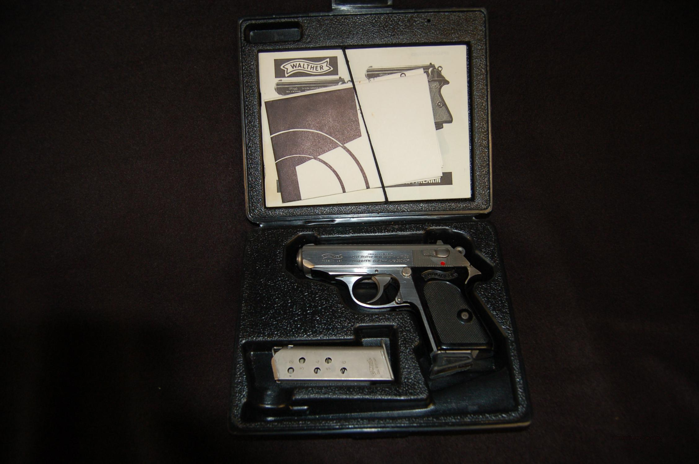 Walther Interarms US made PPK Stainless .380  Guns > Pistols > Walther Pistols > Post WWII > PPK Series