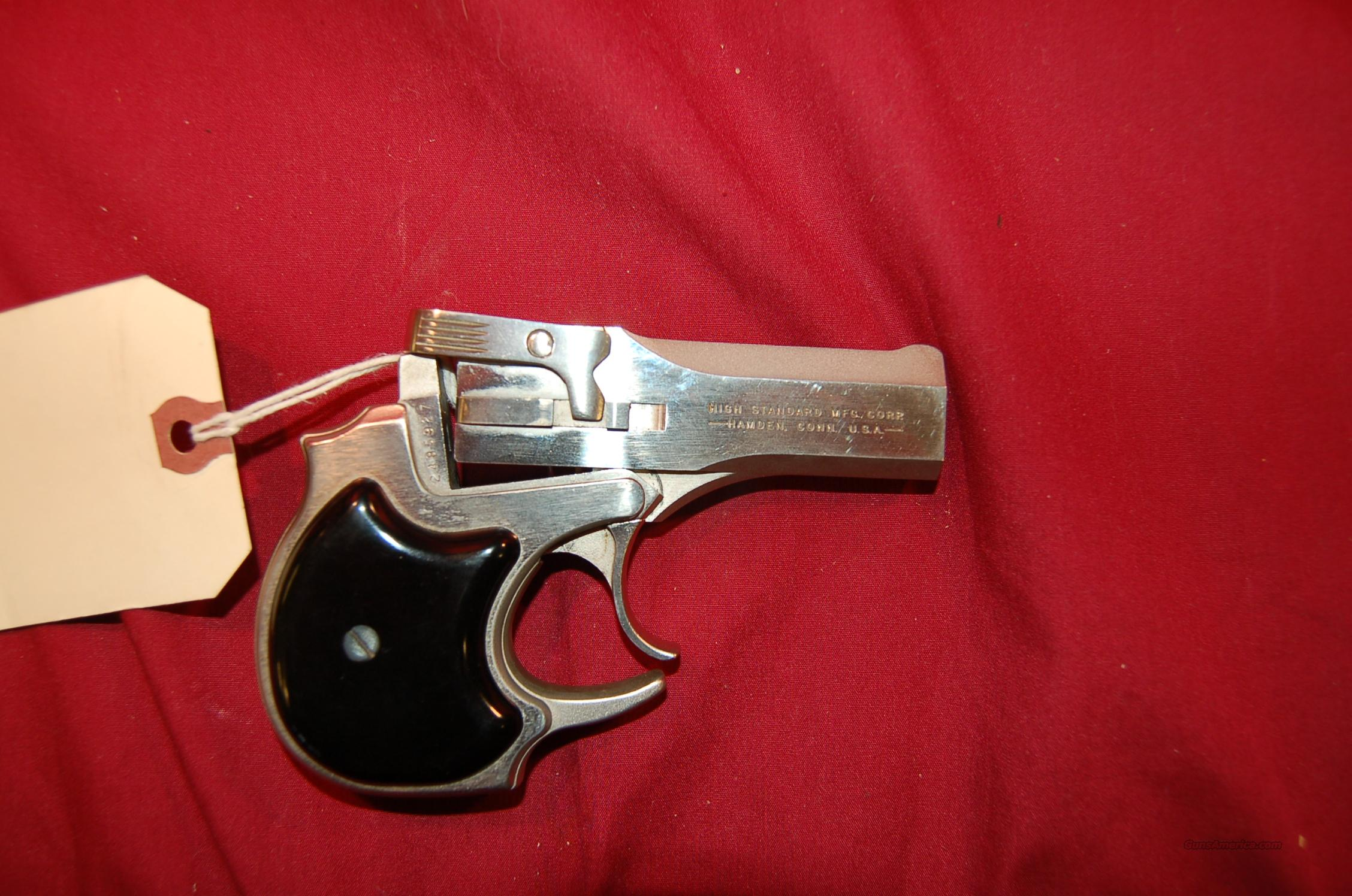 High Standard 3rd Model Derringer .22 mag  Guns > Pistols > High Standard Pistols