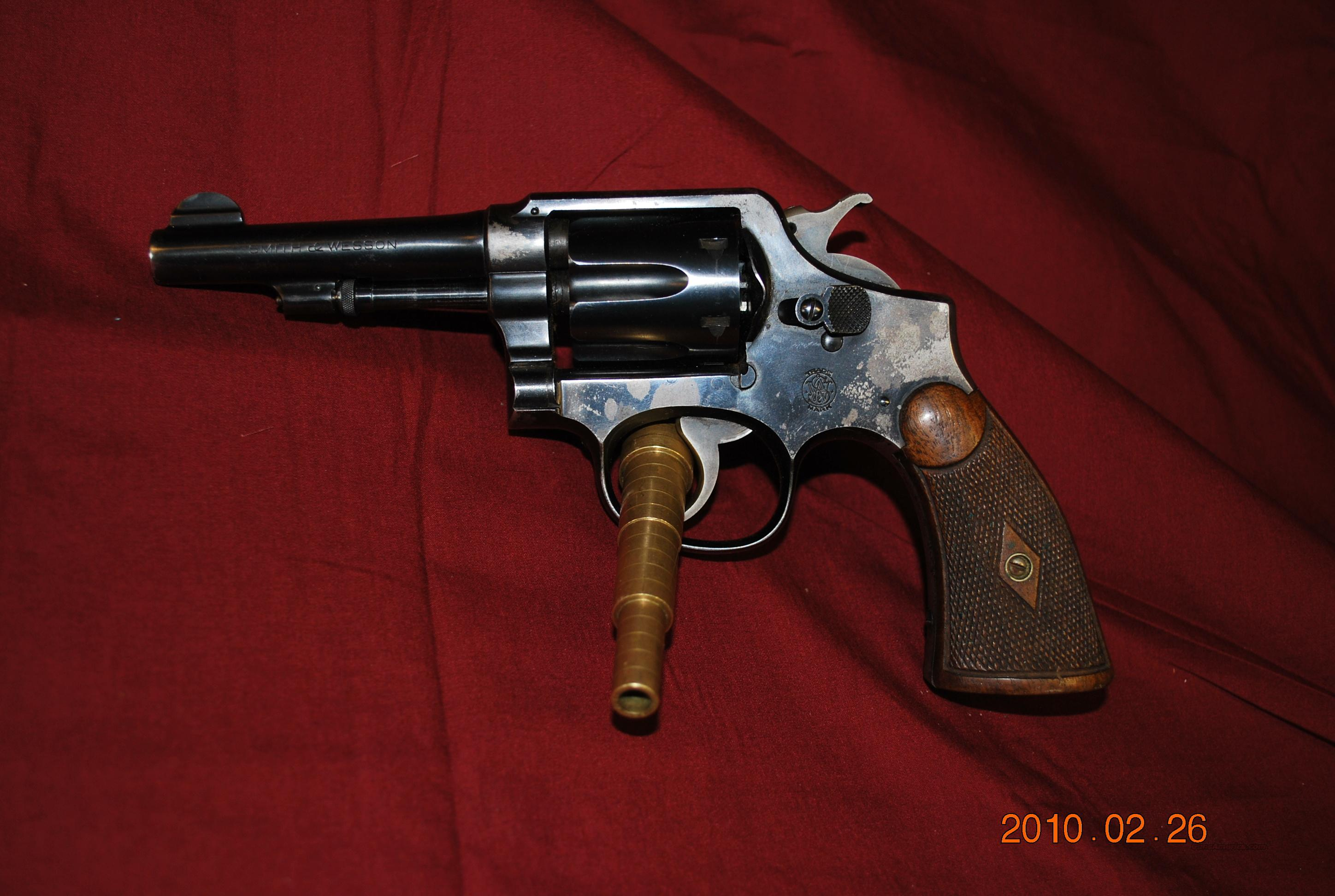 Smith & Wesson 1905 4th Variation  Guns > Pistols > Smith & Wesson Revolvers > Pre-1945
