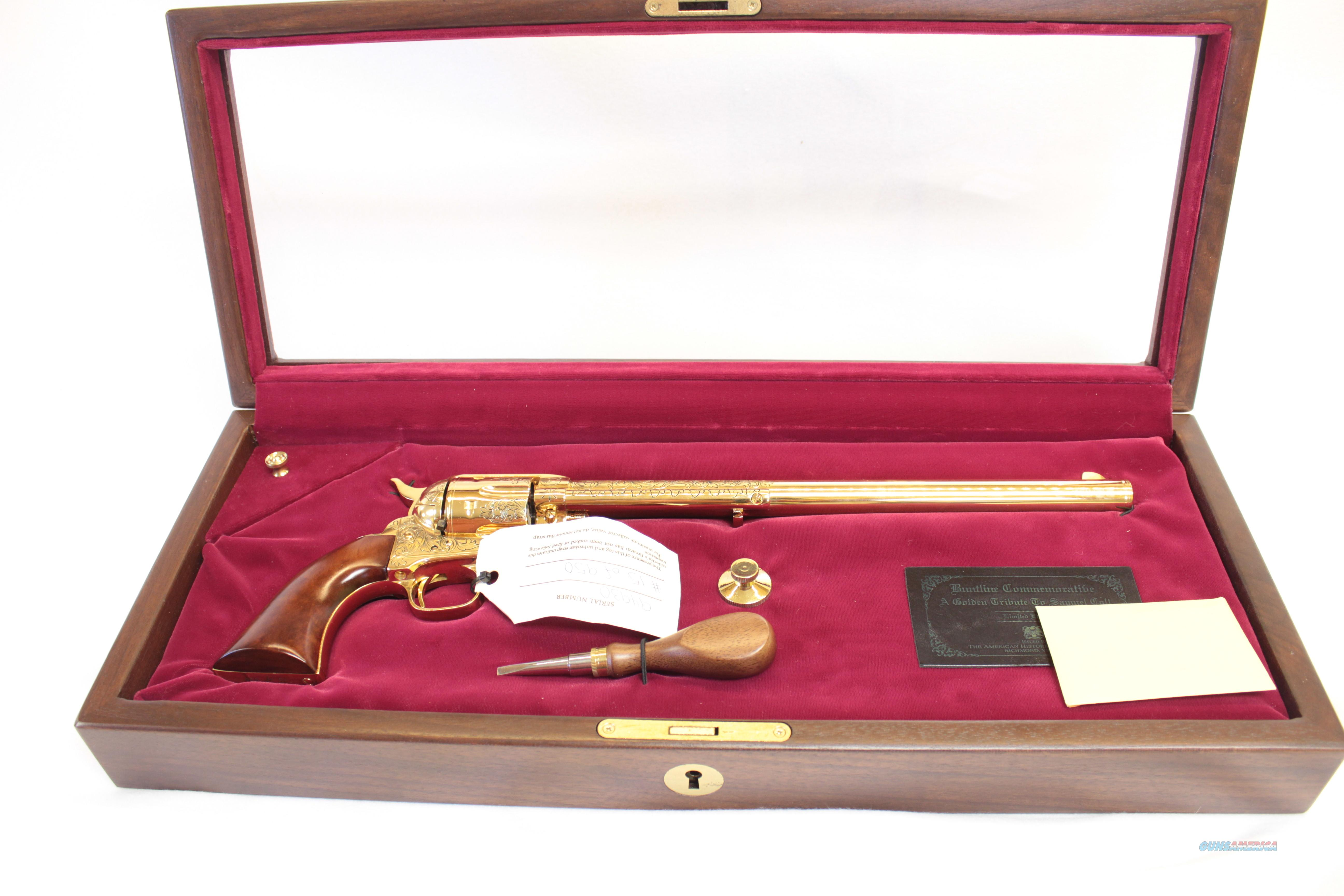 REDUCED Golden Tribute Samuel Colt SAA by Uberti & AHF as new  Guns > Pistols > Colt Commemorative Pistols