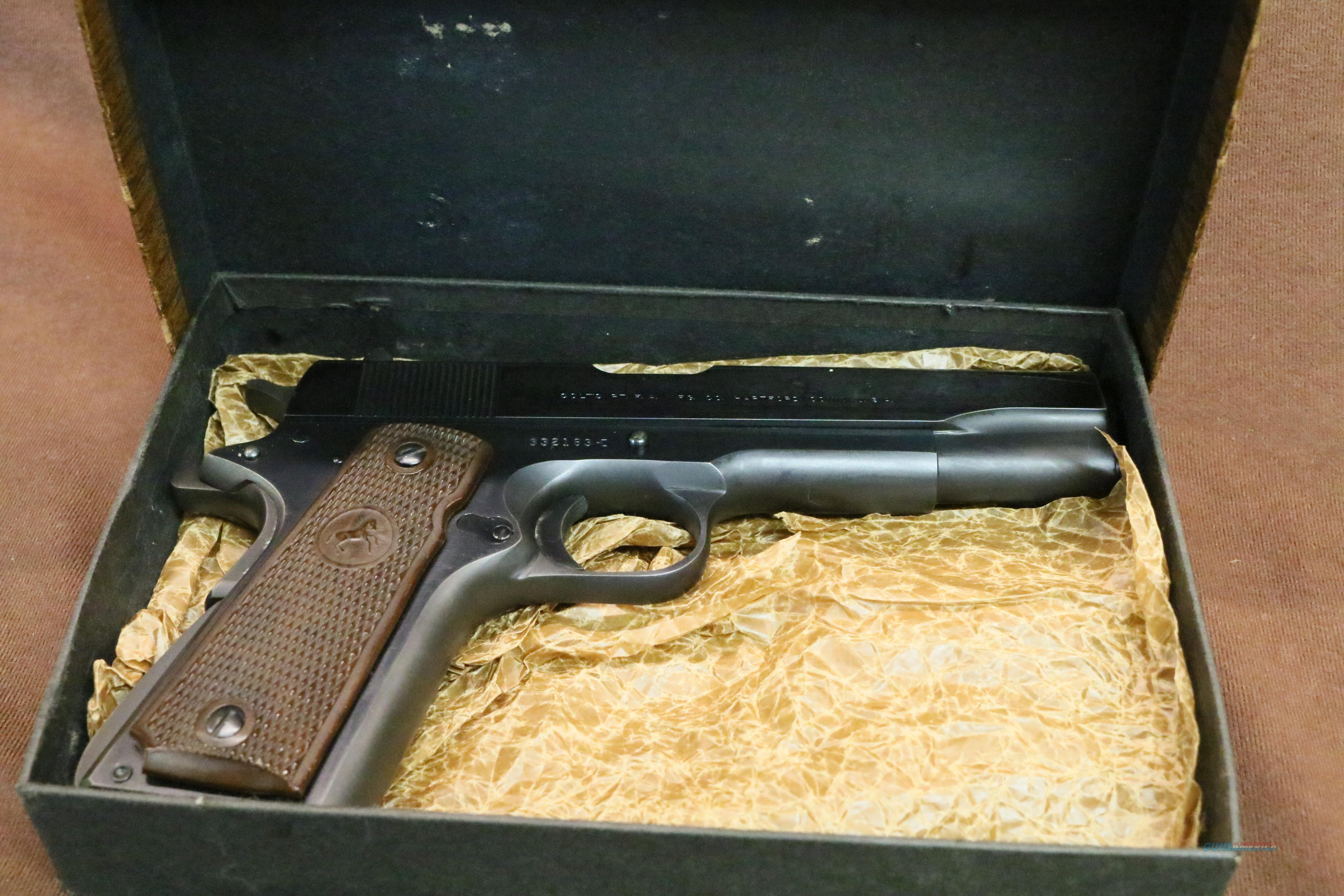 Minty Boxed 1969 Colt Government Model .45 acp  Guns > Pistols > Colt Automatic Pistols (1911 & Var)