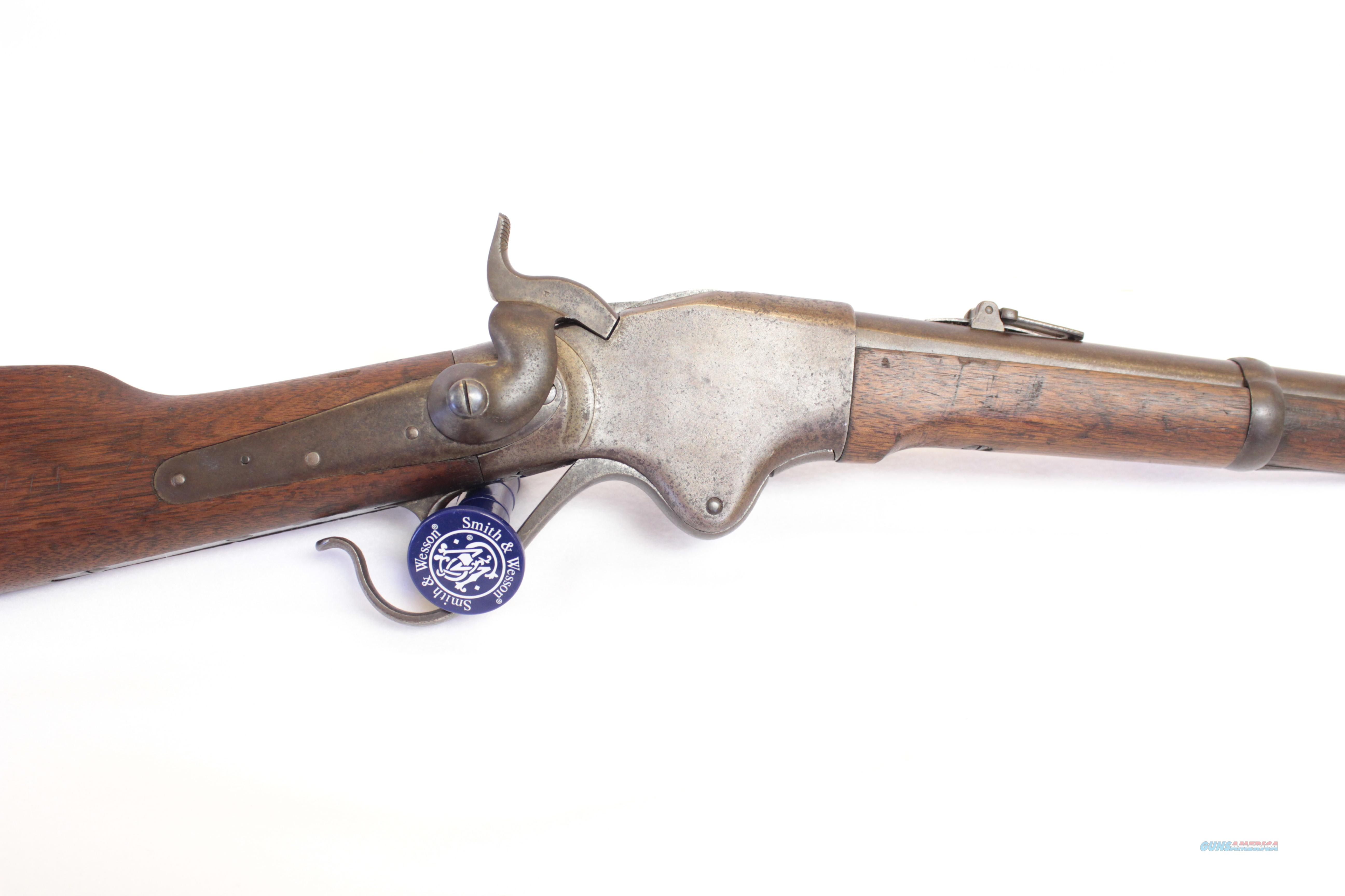 Very Early Unaltered 1860 Spencer Carbine 56-56  Guns > Rifles > Antique (Pre-1899) Rifles - Ctg. Misc.