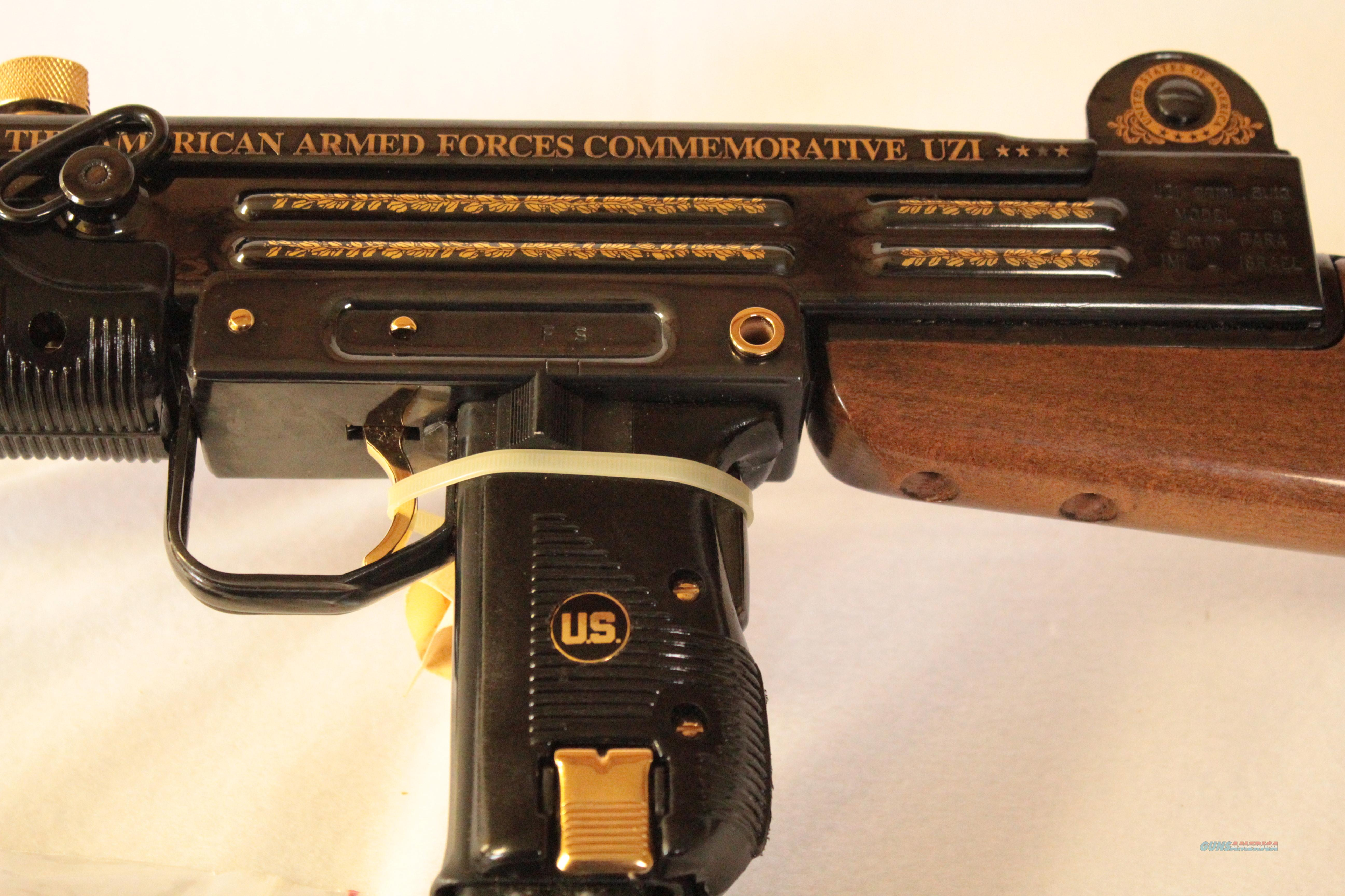 Armed Forces Commemorative UZI by AMF  Guns > Rifles > IMI Rifles