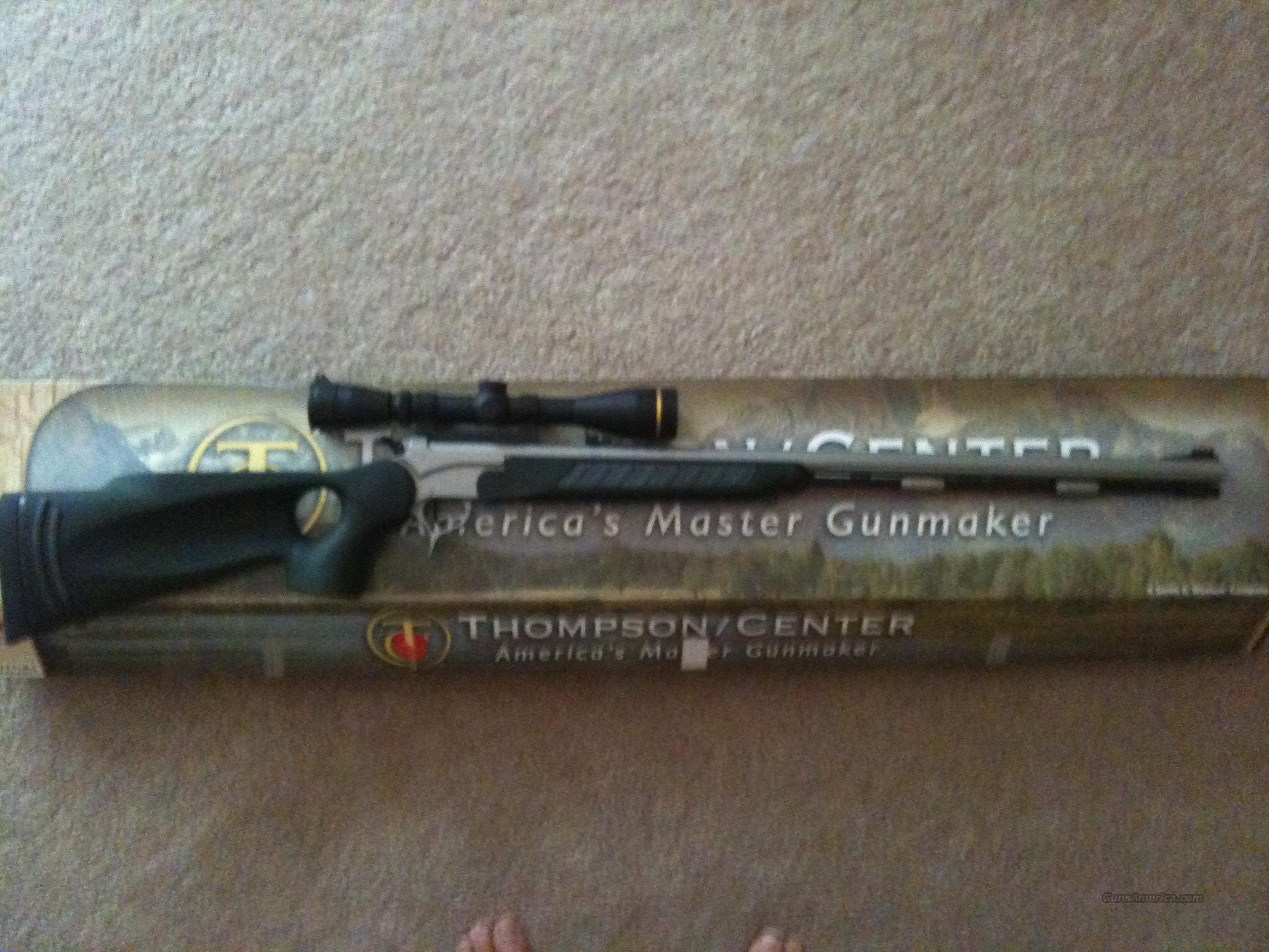 T/C Pro Hunter SST with New Leupold 3x9 Ulimate Slam Scope, Mounts, Rings  Guns > Rifles > Thompson Center Muzzleloaders > Inline Style