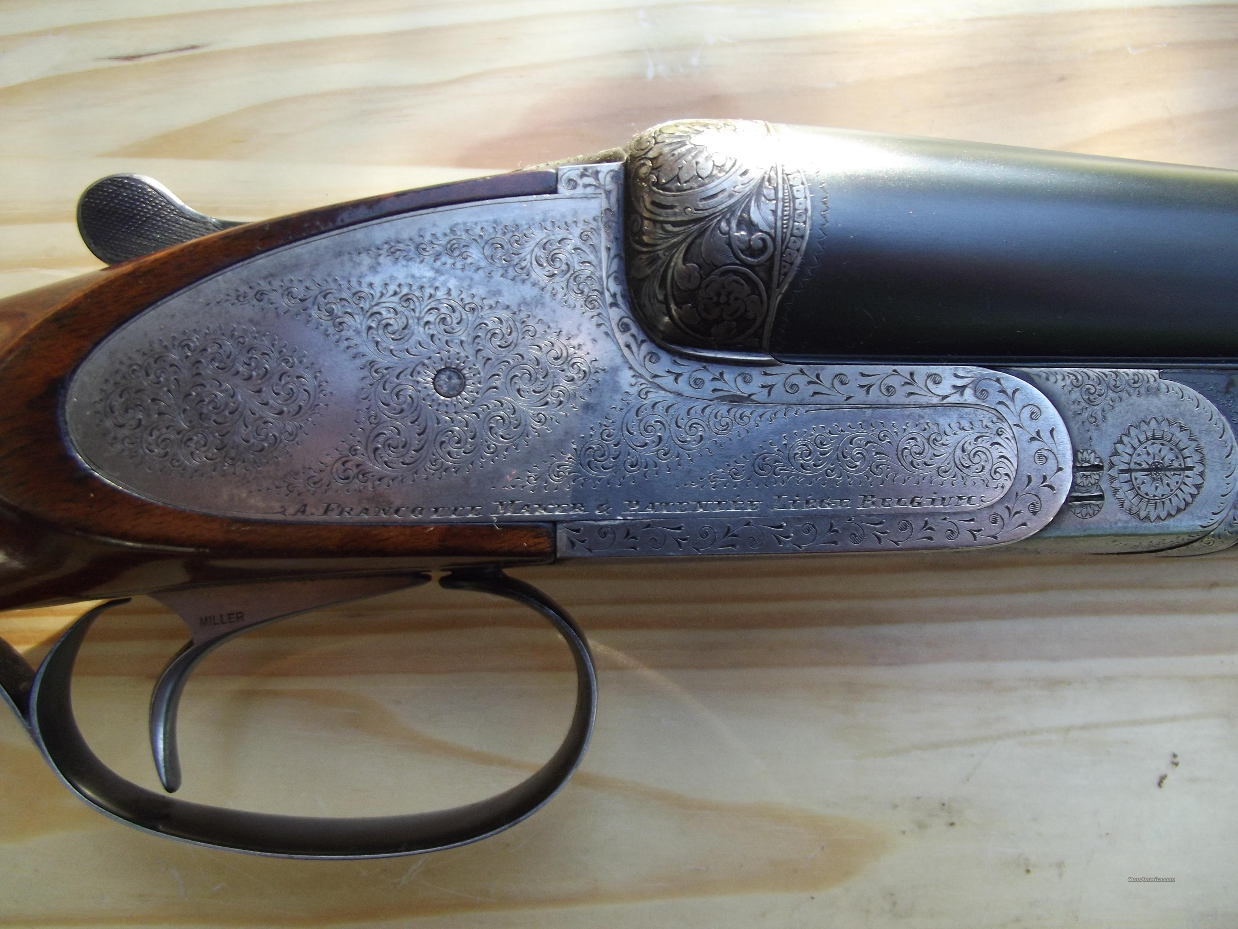 A. Francotte 12ga Model 20E (REDUCED PRICE)  Guns > Shotguns > Francotte Shotguns