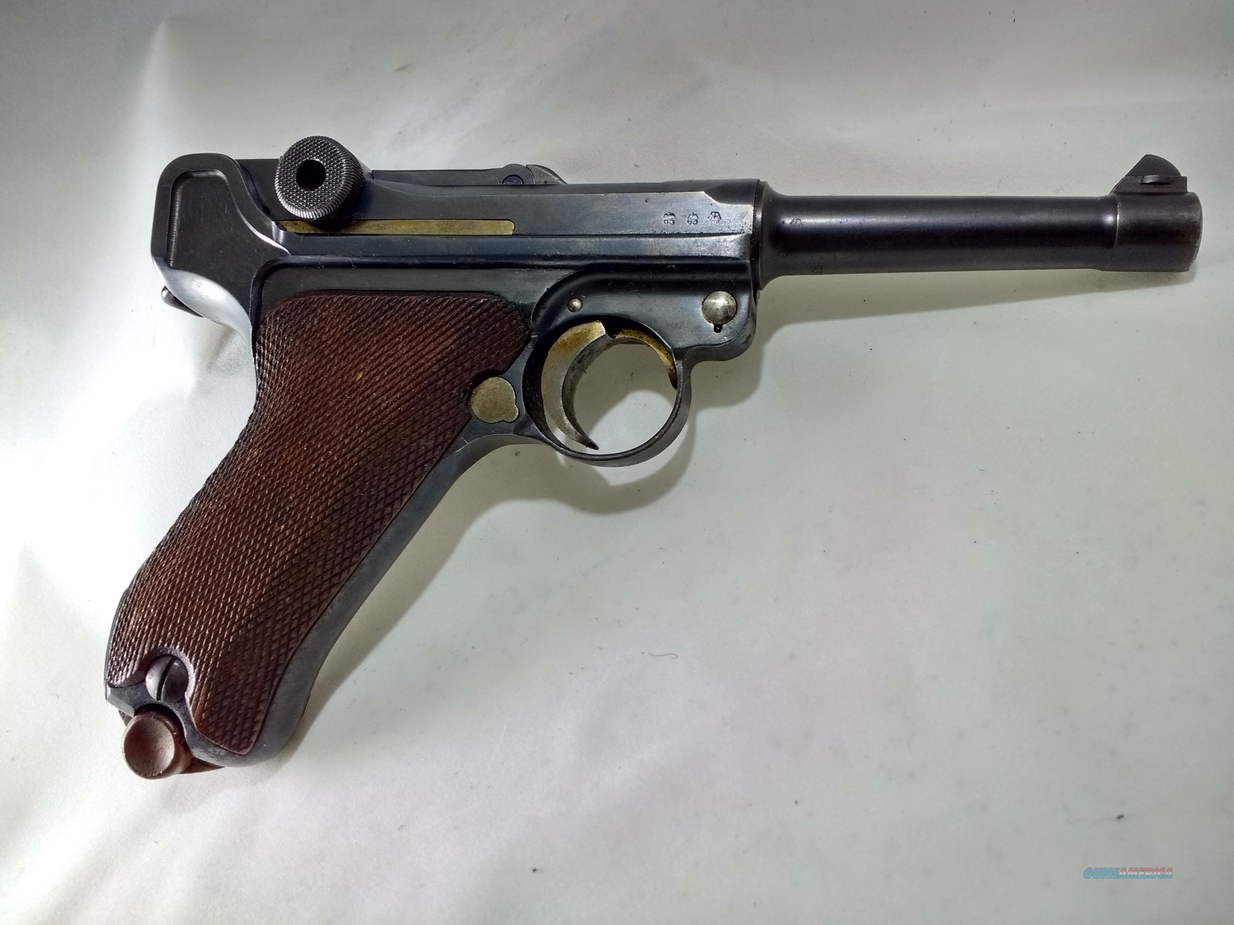 1937 GERMAN LUGER  Guns > Pistols > Luger Pistols