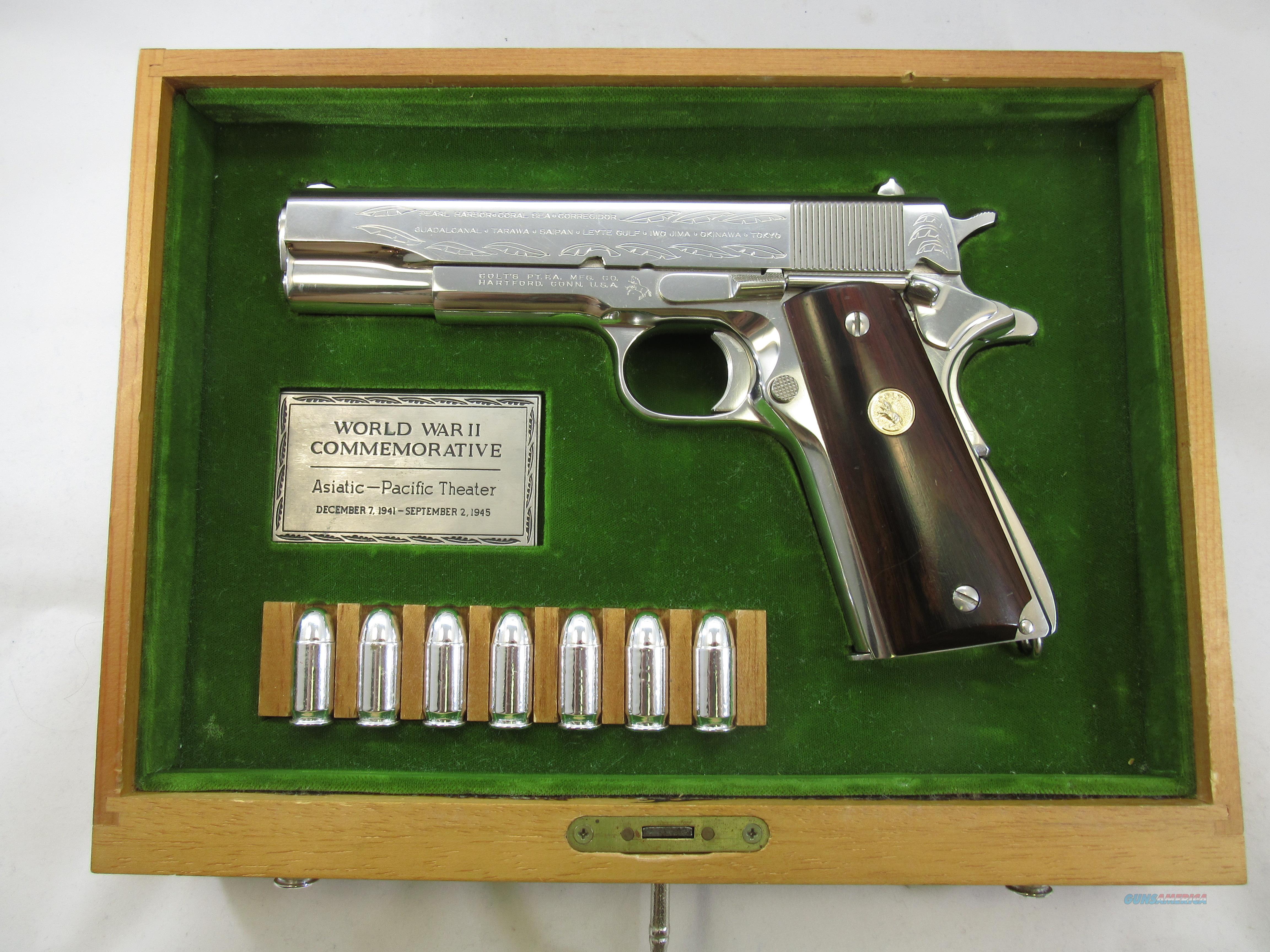 COLT COMMEMORATIVE - PACIFIC THEATER  Guns > Pistols > Colt Commemorative Pistols