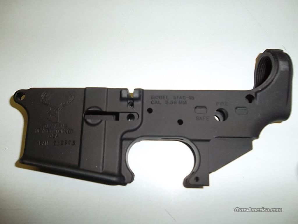 Stag Arms Stag-15 stripped lower  Guns > Rifles > Stag Arms > Lower Only