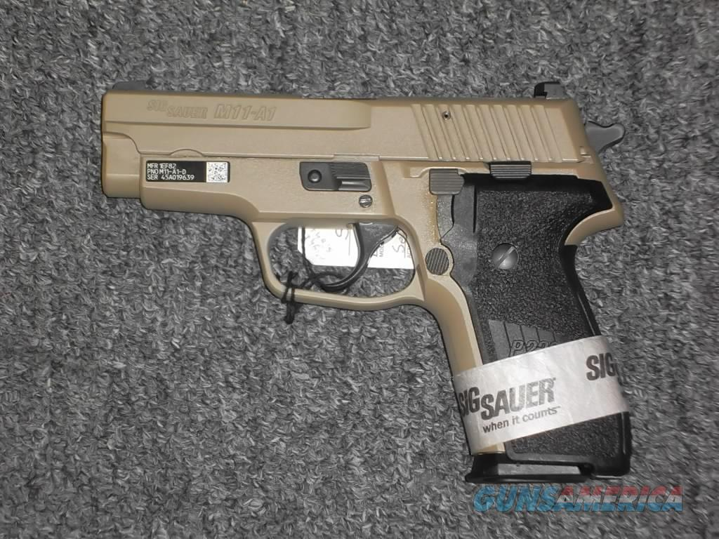 Sig Sauer M11 A1 9mm Flat Dark Earth