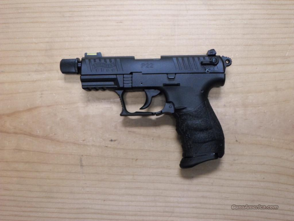 Walther P22 Tactical  Guns > Pistols > Walther Pistols > Post WWII > P22