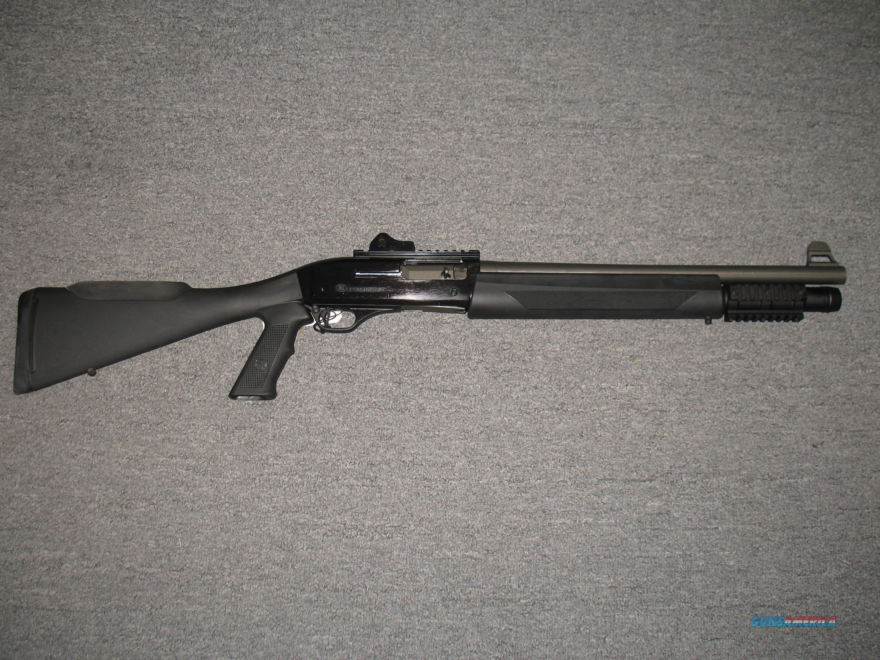 FNH SLP 12 gauge (Self Loading Police)  Guns > Shotguns > FNH - Fabrique Nationale (FN) Shotguns > Auto > FN SLP