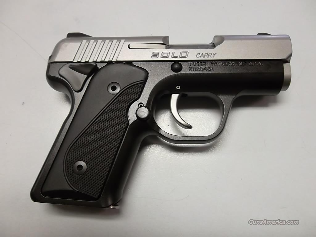 Kimber Solo Carry  Guns > Pistols > Kimber of America Pistols