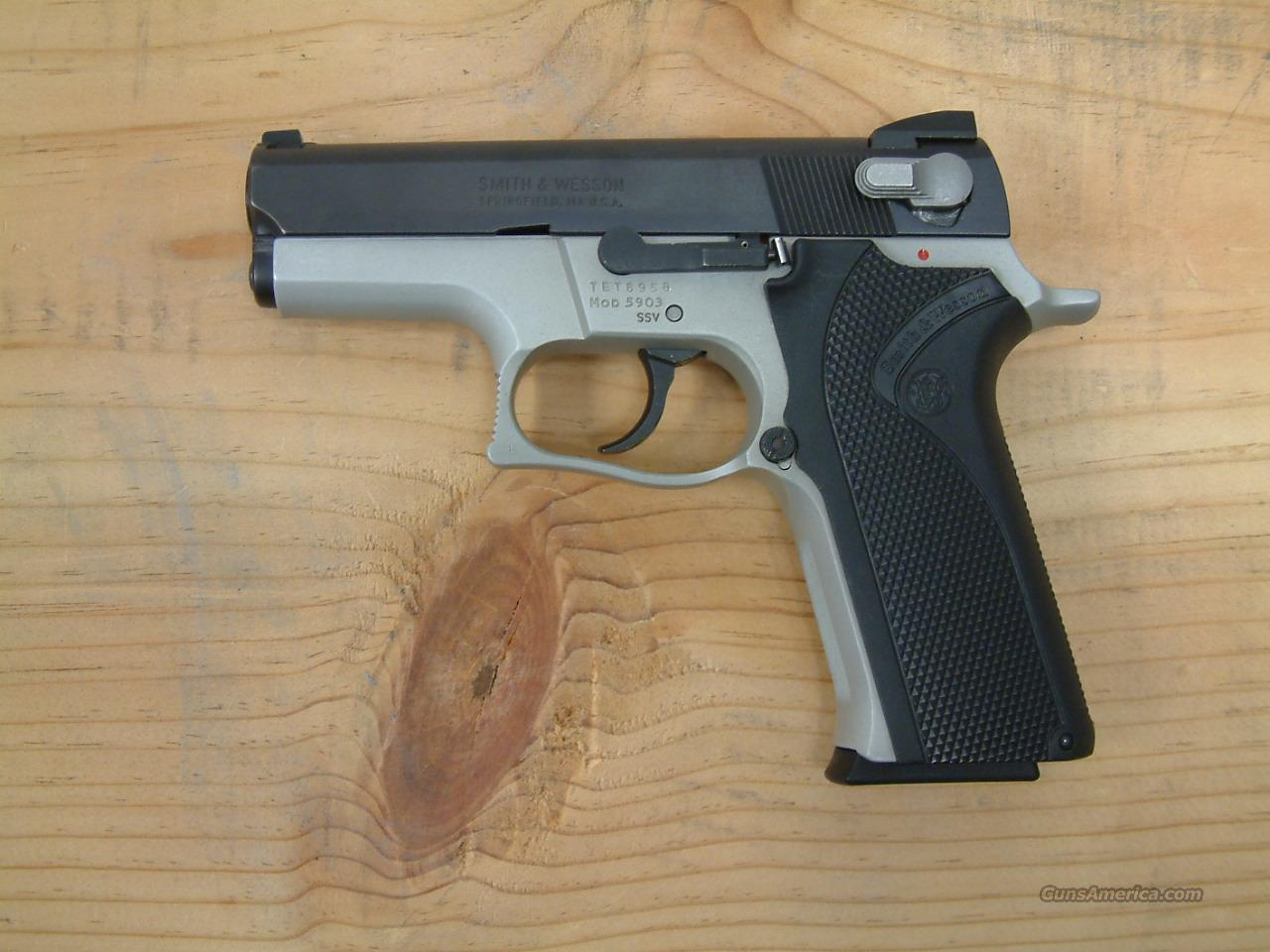 5903 SSV  Guns > Pistols > Smith & Wesson Pistols - Autos > Alloy Frame