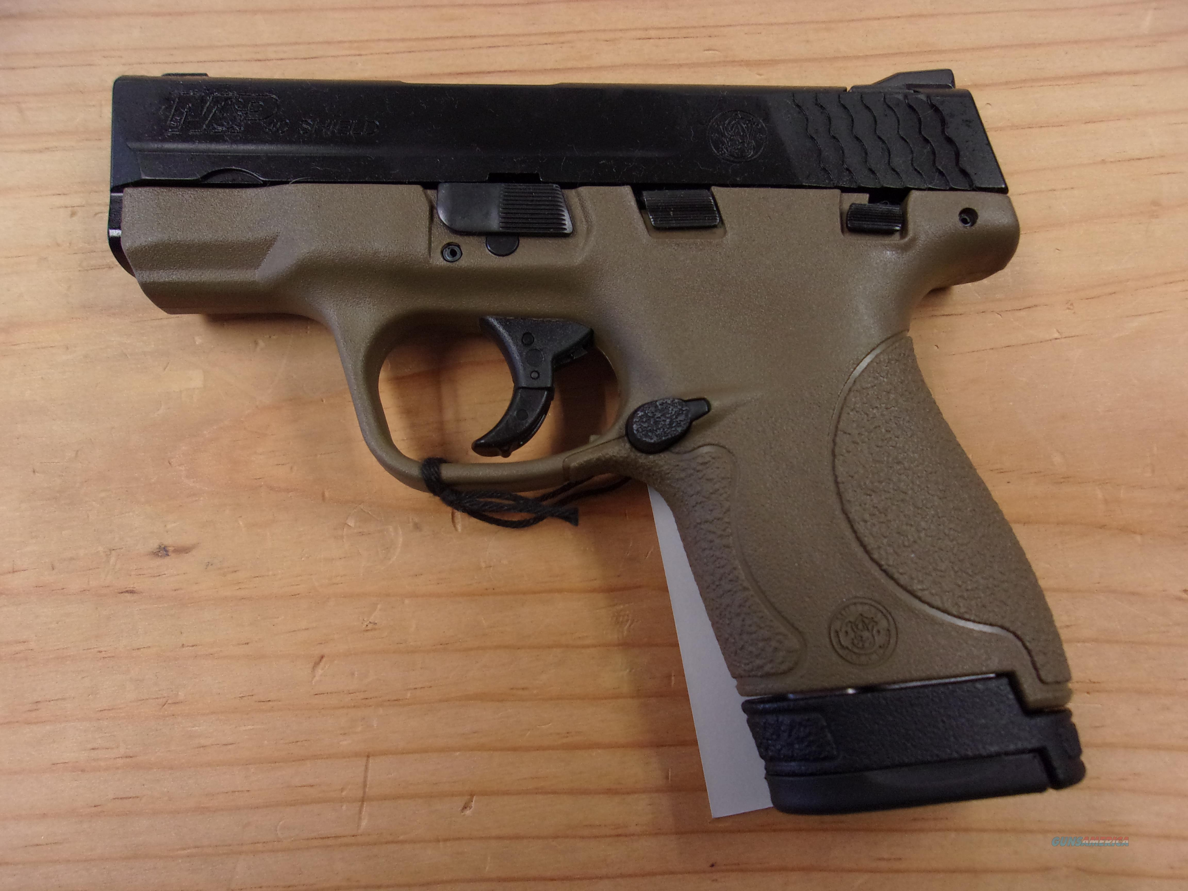 Smith & Wesson M+P 40 Shield   Guns > Pistols > Smith & Wesson Pistols - Autos > Shield