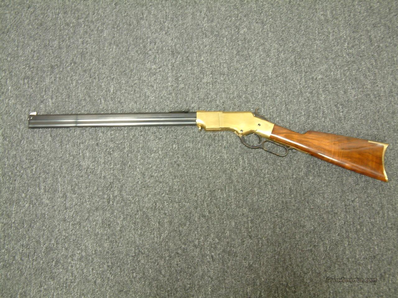 1860 Henry Trapper  Guns > Rifles > Uberti Rifles > Lever Action