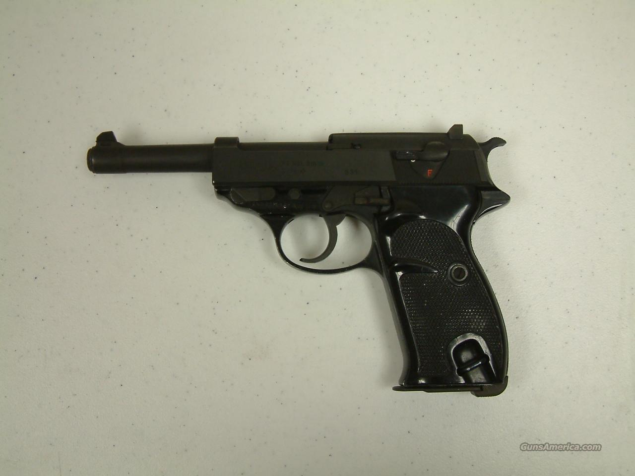 Walther P1  Guns > Pistols > Walther Pistols > Post WWII > Large Frame Autos