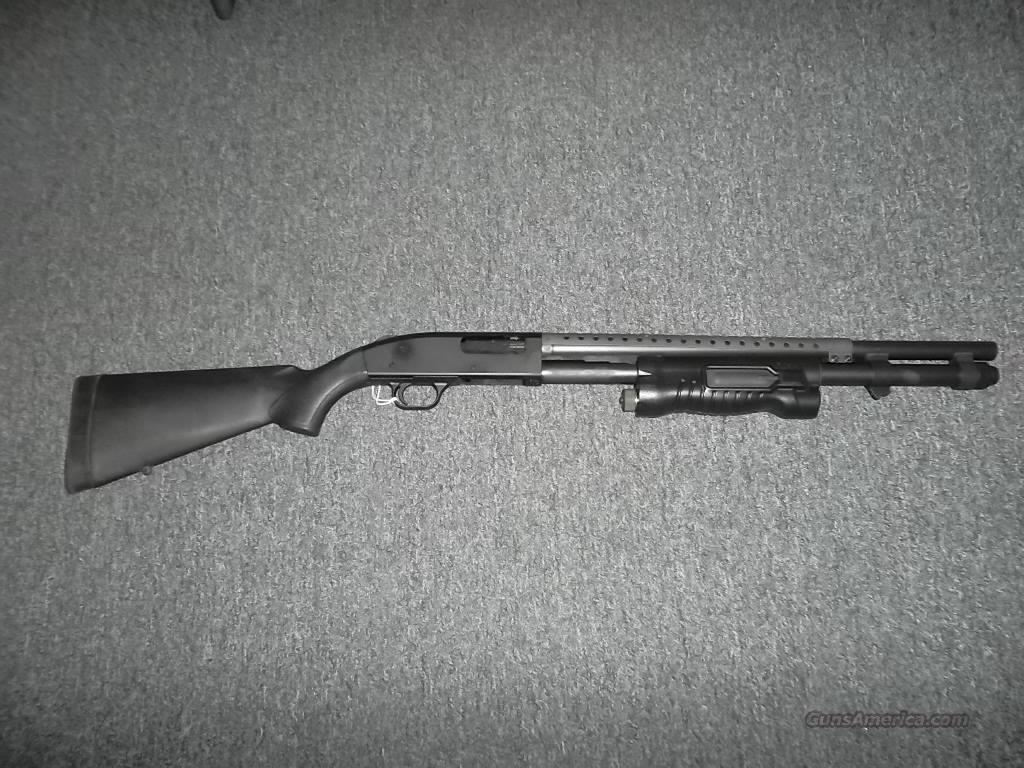 Mossberg 500 w/ Insight flashlight Foregrip  Guns > Shotguns > Mossberg Shotguns > Pump > Tactical