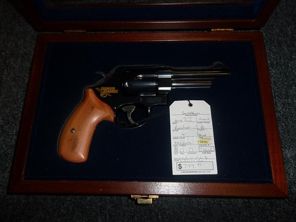 Smith & Wesson 21-4 Thunder Ranch  Guns > Pistols > Smith & Wesson Revolvers > Full Frame Revolver