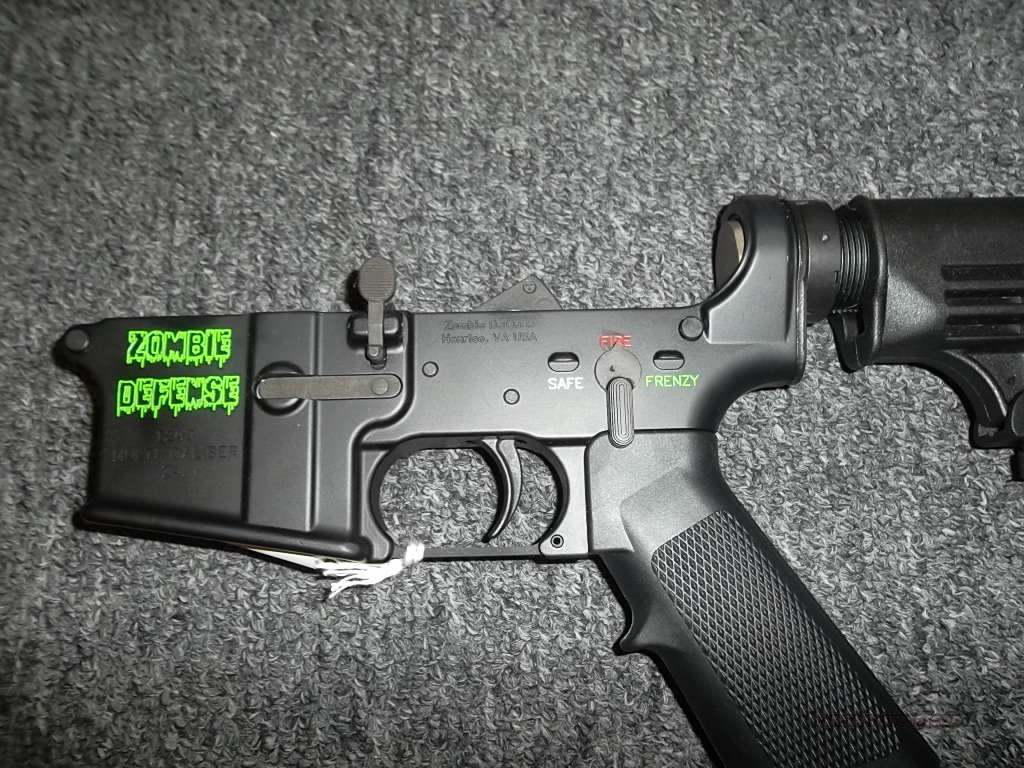 Zombie Defense Z-4  Guns > Rifles > AR-15 Rifles - Small Manufacturers > Lower Only