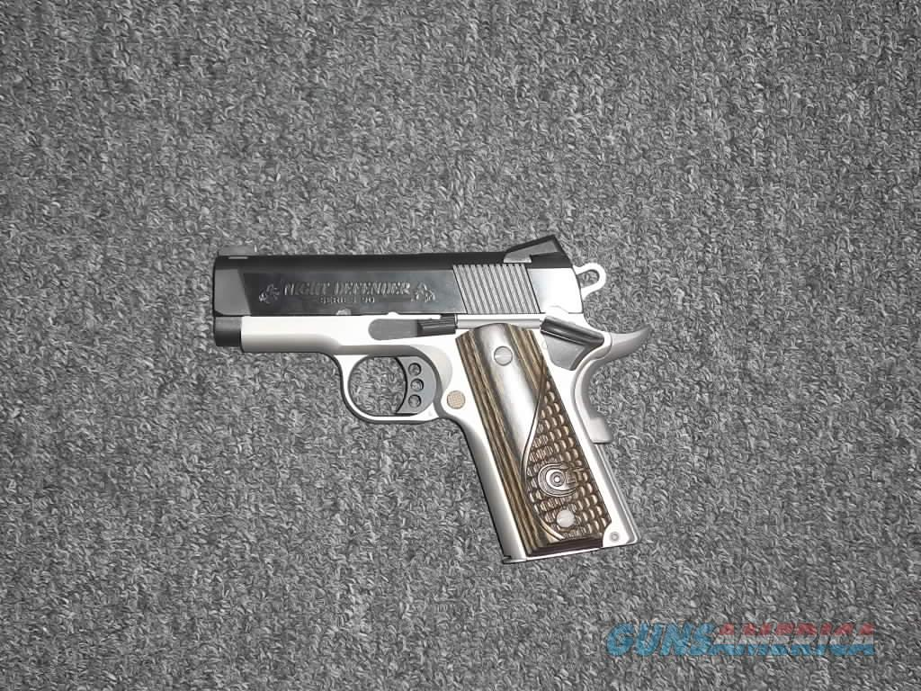 Colt Night Defender  Guns > Pistols > Colt Automatic Pistols (1911 & Var)