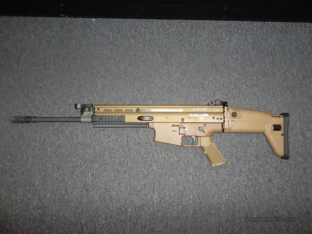 FNH SCAR 17S FDE  Guns > Rifles > FNH - Fabrique Nationale (FN) Rifles > Semi-auto > Other