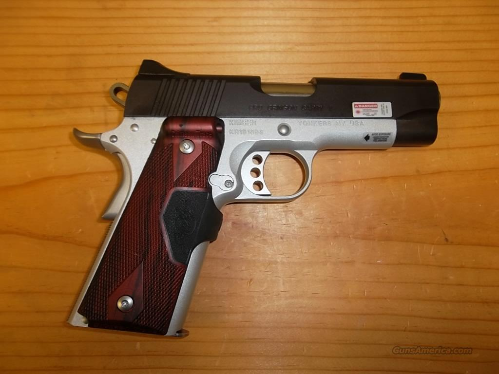 Pro Crimson Carry II w/red Crimson trace grips  Guns > Pistols > Kimber of America Pistols