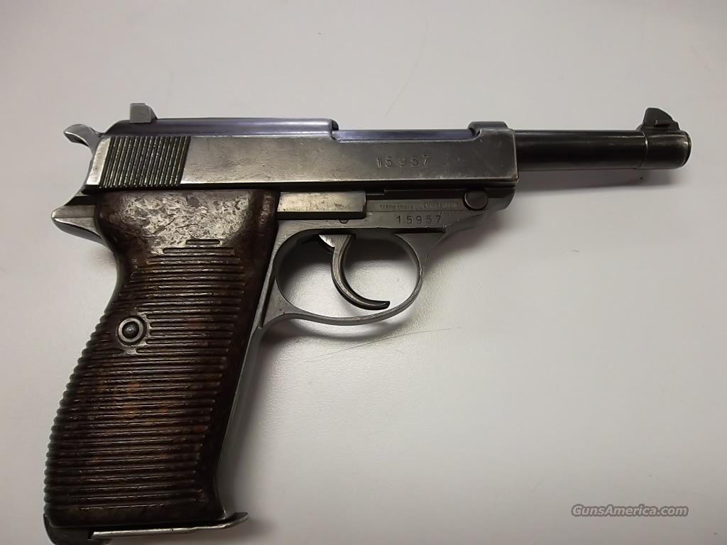 Walther P38 HP  Guns > Pistols > Walther Pistols > Pre-1945 > P-38