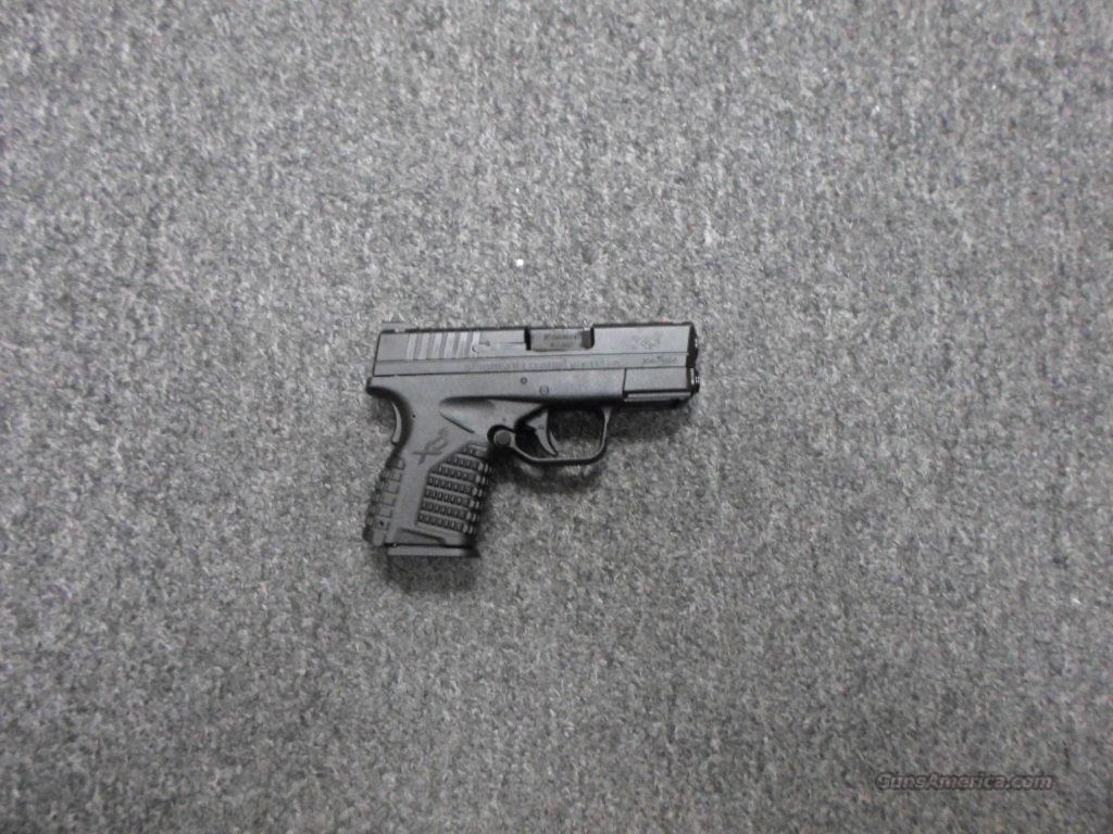 Springfield Armory XDS 9mm  Guns > Pistols > Springfield Armory Pistols > XD-S